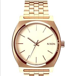 Nixon Rose Gold large face watch